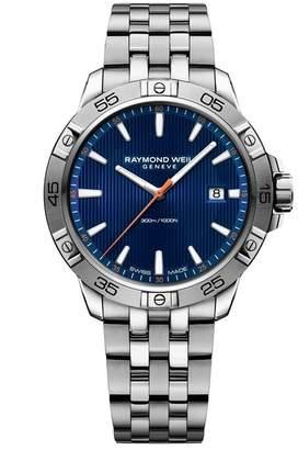 Raymond Weil Men's Tango Dial Watch, 41mm
