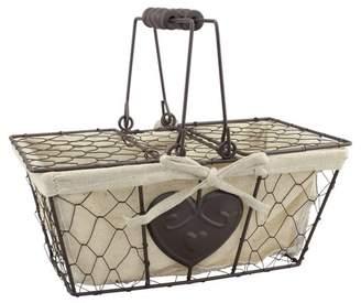 CKK Home Decor Metal Basket with Lid - CKK Home Décor