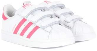 adidas Kids Superstar CF leather sneakers