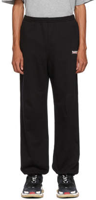 Balenciaga Black Campaign Lounge Pants
