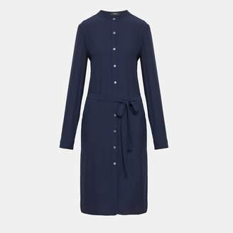 Theory Silk Effortless Tunic Dress