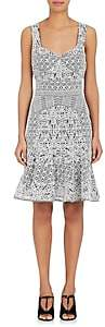 J. Mendel WOMEN'S LACE SLEEVELESS DRESS-WHITE SIZE 8