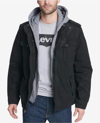 Levi's Men's Fleece-Lined Hooded Field Coat