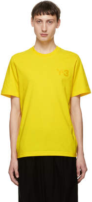 Y-3 Yellow CL T-Shirt