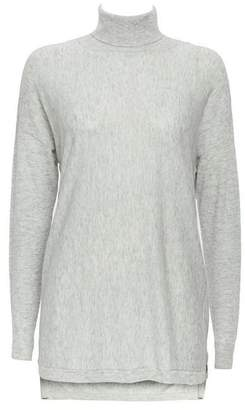 Wallis Grey Popper Side Jumper
