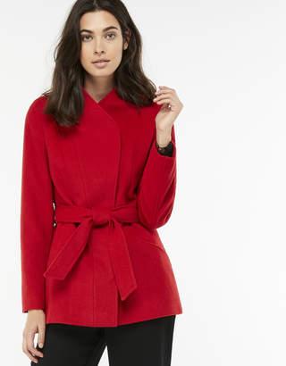 Monsoon Rose Wool Belted Coat