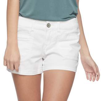 UNIONBAY Juniors' Delaney Stretch Midi Shorts