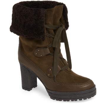 See by Chloe Verena Shearling Cuff Bootie