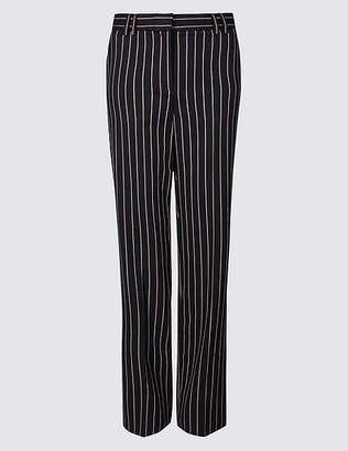 Marks and Spencer Striped Straight Leg Trousers