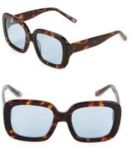 Elizabeth and James Tortoise 50MM Square Sunglasses