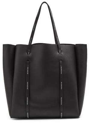 Balenciaga Everyday Tote M - Womens - Black White