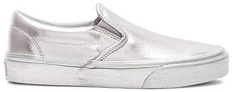 Vans Metallic Sidewall Classic Slip-On Sneaker