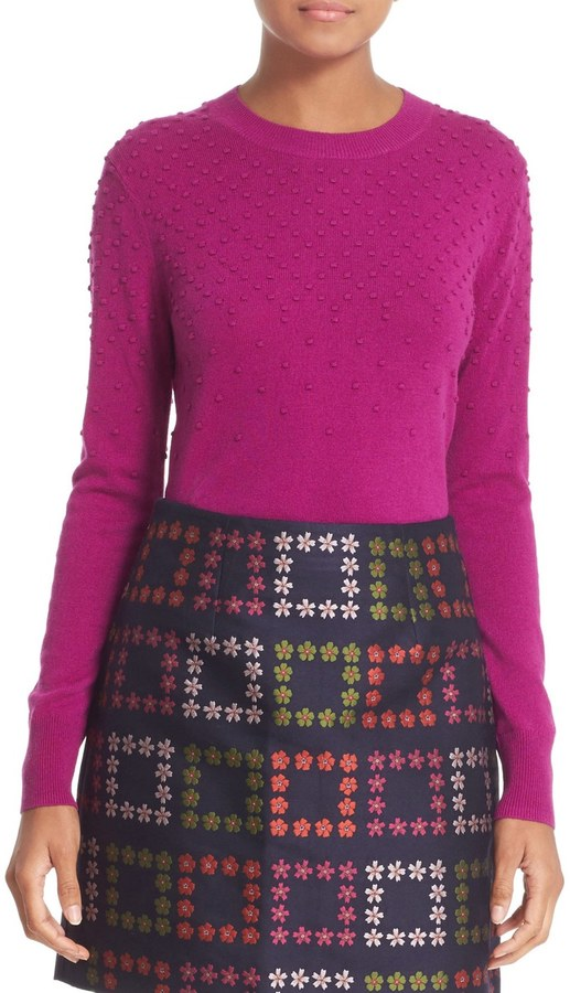 Ted Baker London Sabrina Bubble Stitch Crew Neck Sweater 2
