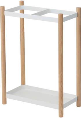 Yamazaki Home Steel & Wood Umbrella Stand