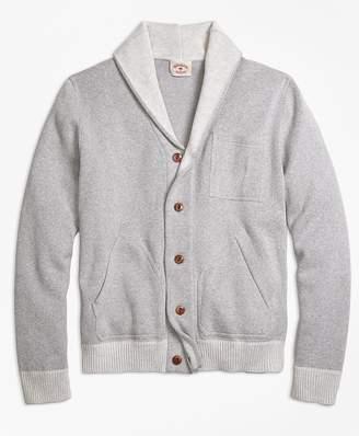 Cotton Shawl-Collar Cardigan $98.50 thestylecure.com