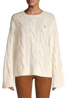 ... Polo Ralph Lauren Wool\u0026 Cashmere Cable Knit Sweater