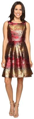 rsvp Millington Metallic Brocade Dress Women's Dress