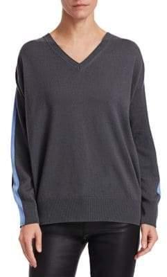Emporio Armani Cashmere Dual Color Sweater