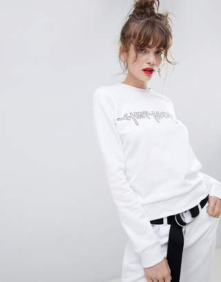 Cheap Monday Hacker Outline Win Sweatshirt