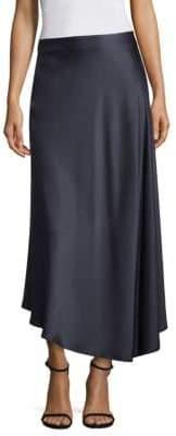 Dessie Satin Midi Skirt
