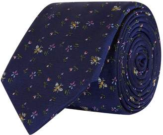Paul Smith Silk Floral Bee Tie
