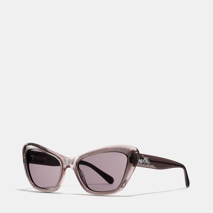 Coach  COACH Coach Horse And Carriage Cat Eye Sunglasses