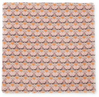 Chloé Printed Silk-twill Scarf - Blush
