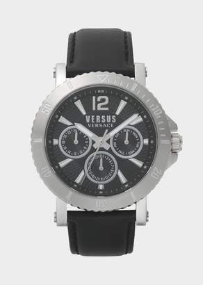 Versus Black Dial Steenberg Watch