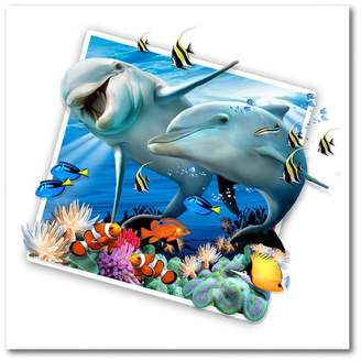 Trademark Fine Art Dolphin Picture by Howard Robinson
