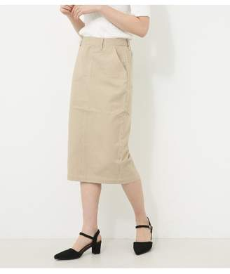 AZUL by moussy (アズール バイ マウジー) - アズールバイマウジー 綿ツイルタイトスカート