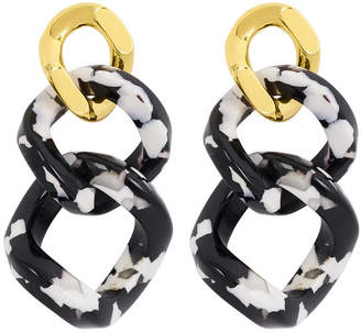 Henri Bendel Resin Link Drop Earring