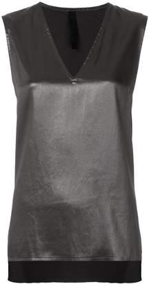 Ilaria Nistri v-neck high low tank top