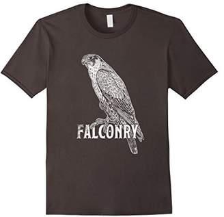 Falcon Silhouette Tee Shirt Love Falcons Falconry Hunting