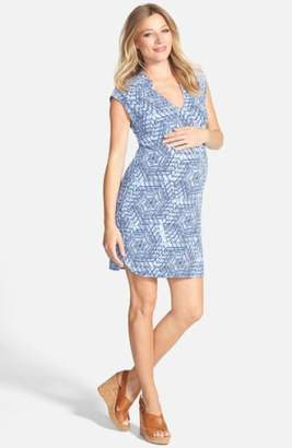 Tart Maternity 'Mellie' Embellished Neck Maternity Dress