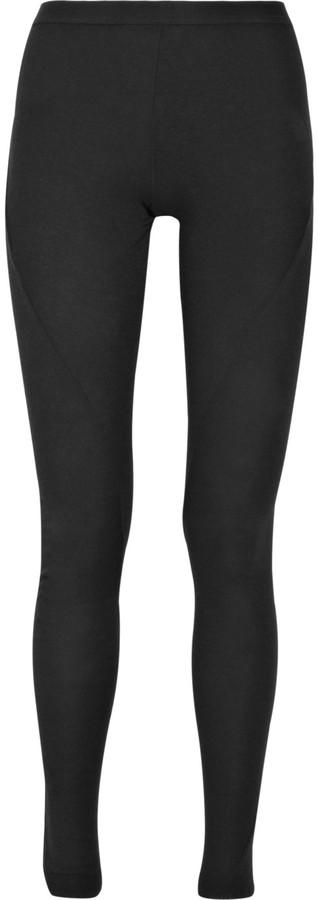 Rick Owens Lilies Wool-jersey leggings