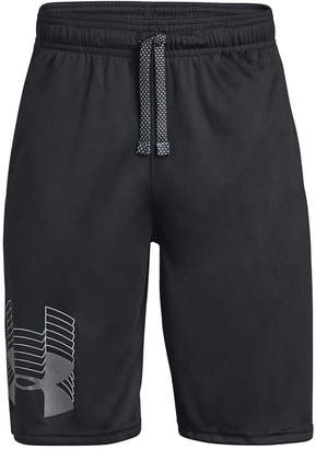 Under Armour Big Boys Prototype Logo Shorts