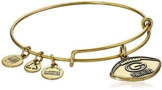 Alex and Ani Green Bay Packers Football Expandable Bangle Bracelet