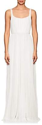 J. Mendel Women's Ballerina Pleated Silk Gown