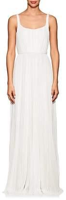 J. Mendel Women's Ballerina Pleated Silk Gown
