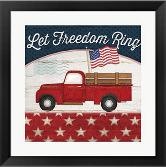 Let Freedom Ring By Jennifer Pugh Framed Art