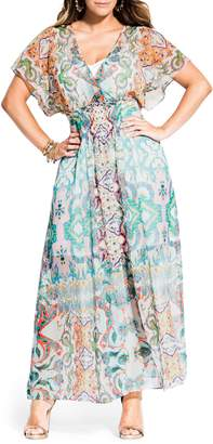 City Chic Casablanca Maxi Dress