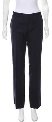 Saint Laurent Mid-Rise Wool Pants