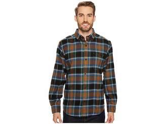 Woolrich Trout Run Flannel Shirt Men's Long Sleeve Button Up