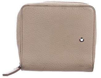 Montblanc Leather Zip Wallet