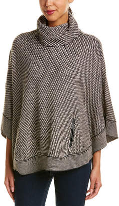 Romeo & Juliet Couture Turtleneck Poncho