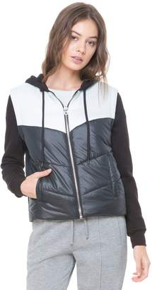 Juicy Couture Colorblock Relaxed Puffer Jacket