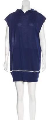 Alexander Wang Hooded Mini Dress