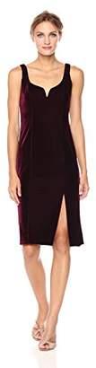 Donna Morgan Women's Juliette Sweetheart Dress with High Slit