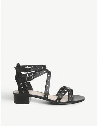 Office Manhattan studded faux-leather sandals