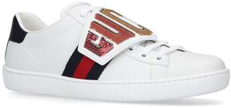 Gucci Sequin New Ace Sneakers